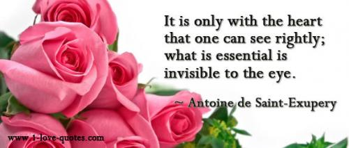 That Which Is Essential Is Invisible To The Eyes: Michael Oyeah (Micheal_IsHere) Invisible Quotes