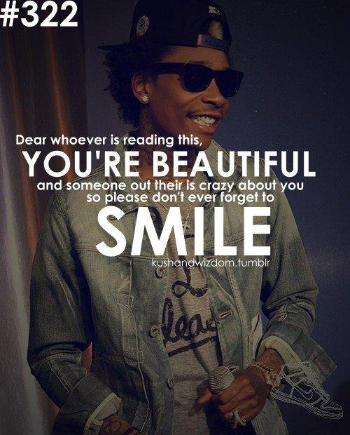 Don't forget to keep smilling