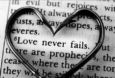 ...love never fails!