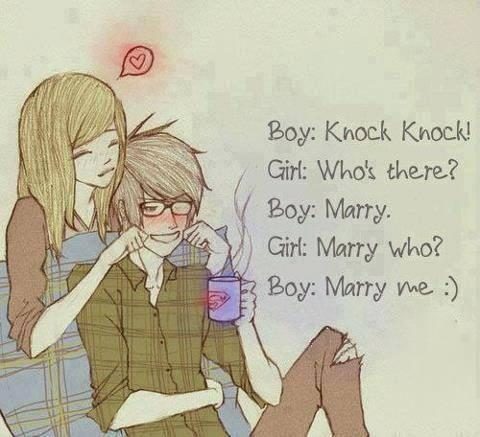 BOY:Knock Knock..
