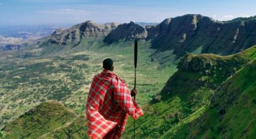 This is the great RIFT VALLEY