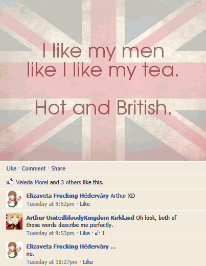 I like my men like I like my tea...