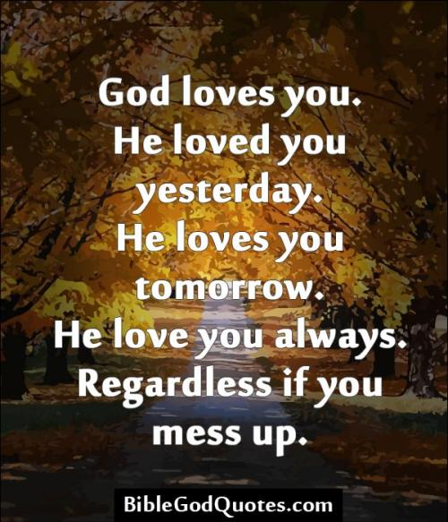 Gods Quotes: Bible Quotes About Gods Love. QuotesGram