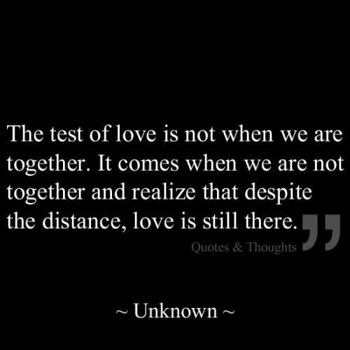 the ultimate test of a relationship quotes