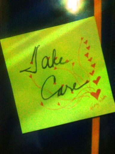 Take Care..