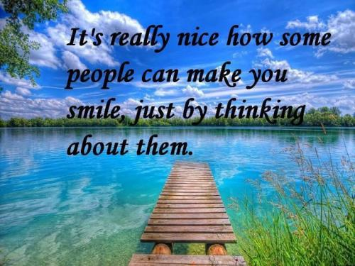 Image result for Someone Makes You Smile Quotes
