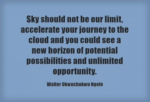 Sky should not be our limit,