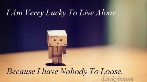 I Am Alone But Happy Because I Have Nobody To Lose 160177 20131104 084918 I Am