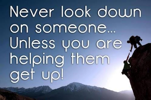 the importance of helping others Over the past few weeks, i've had a eye-opening realization of how important helping others actually is no action, no matter how small, is without its effect on those around you people may forget what you said or what you did, but they will never forget how you made them feel behind every successful.