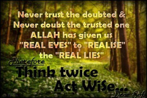 think twice act wise