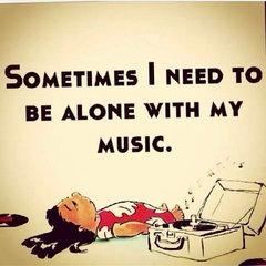 me and music are like a couple