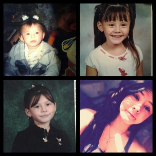 1 , 4 , 9 , 13 . Jeez . Growing up so fast lol