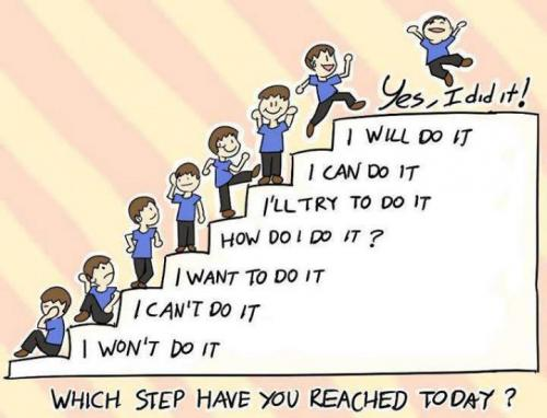 which step have u reached today?