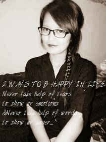 2 wayz to be happy ..