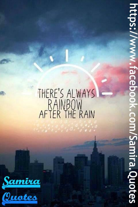 After your storm of tears