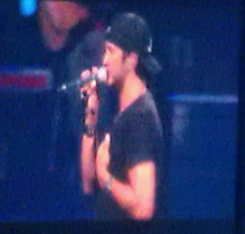 Luke concert for my birthday