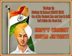 Shaheed BHAGAT SINGH was man who was completely Fearless,