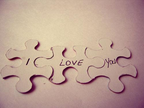 If only being in love and staying in love were as easy as fitting together a few easy puzzle pieces.