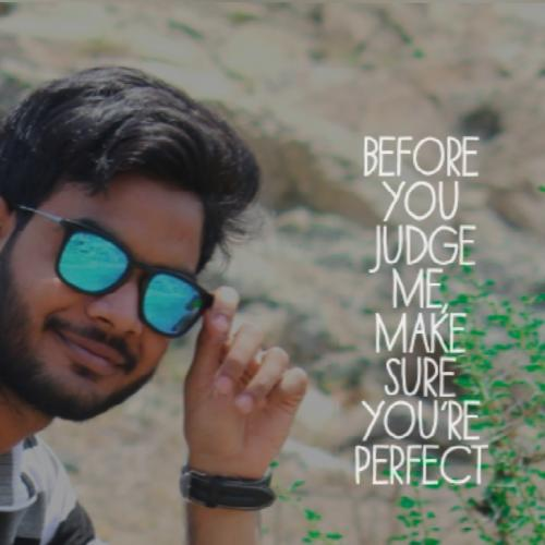 Before u judge me make sure you are perfect