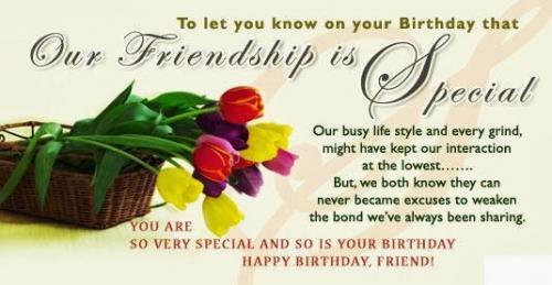 Happy birthday my friend..