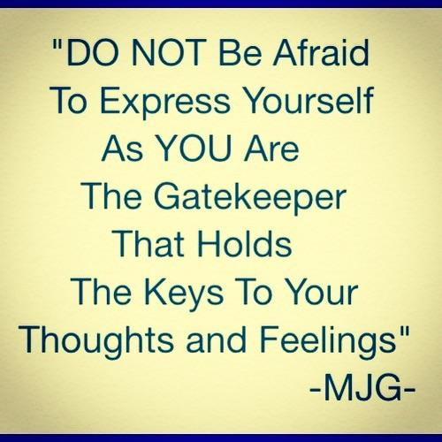 Expressing Quotes: Mike (DAT_LOYAL_DUDE) Expressing Yourself Quotes