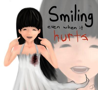 Smile WHEN it hurts most