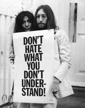 Don't hate what you don't understand.