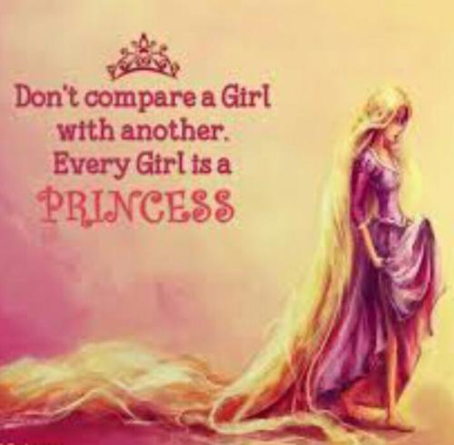 Iam always a princess,,....