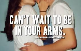 I love u baeb and cant wait to be on ur arms!!!!<3