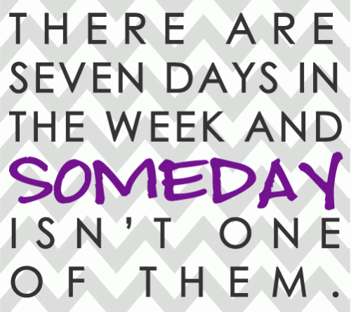 Today is not preparation for tomorrow, today is the main event.   All glory comes from daring to begin...begin today! #MondayMotivation