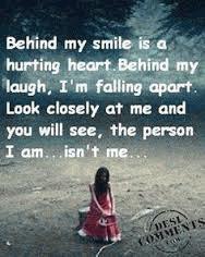 I'm hurting too