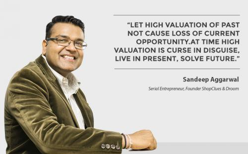 Let high valuation of past not cause loss of current opportunity. At time high valuation is curse in disguise, live in present, solve future.