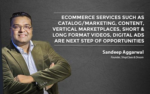 Ecommerce services such as catalog/markting, content, vertical marketplaces, short & long format videos, digital ads are next step of opportunities