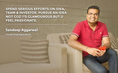 Spend serious efforts on idea, team & investor. Pursue an idea not coz its glamourous but u feel passionate.