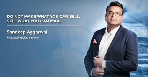 Do not make what you can sell, sell what you can make
