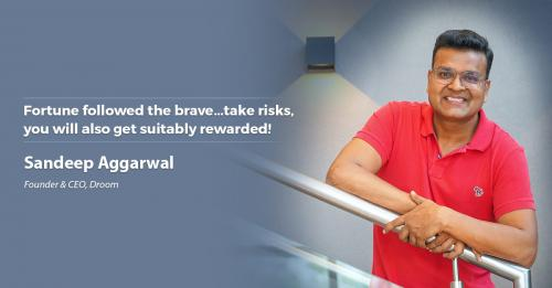 Fortune followed the brave...take risks, you will also get suitably rewarded!