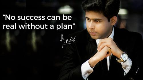 No Success Can be real without a plan.