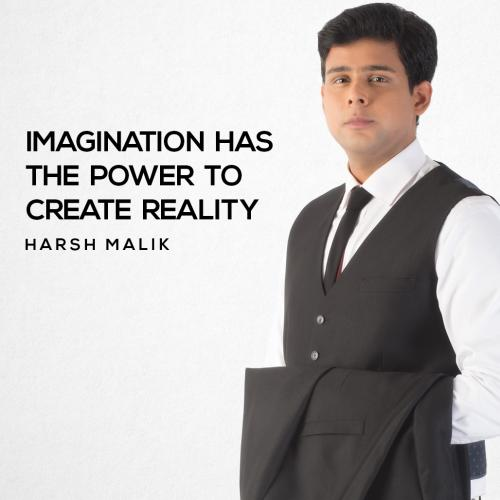 IMAGINATION has the power to create reality