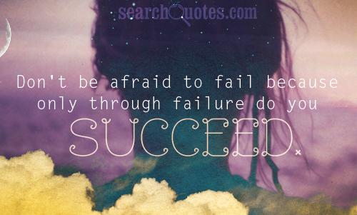 success, failure, positive thinking, inspirational, life, mistakes Quotes