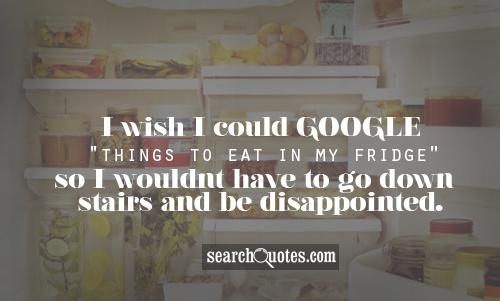 I wish I could google