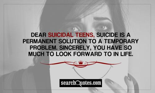 Suicide Quotes For Teen Girls: Teenage Suicide Quotes, Quotations & Sayings 2019