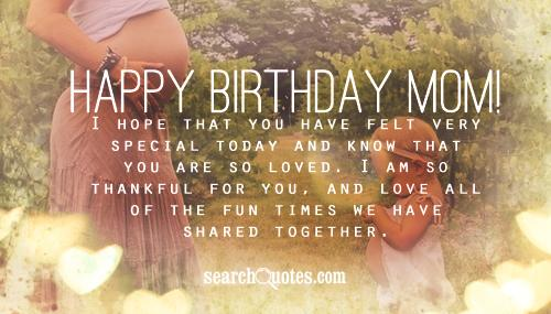 happy 50th birthday mom quotes quotations sayings 2018