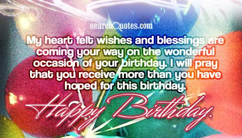 n birthday wishes