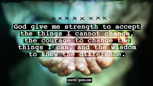 Having The Courage To Make A Change