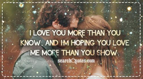 To Show You I Love You Quotes : Love You So Much Affection Quotes I Love You So Much Quotes about ...