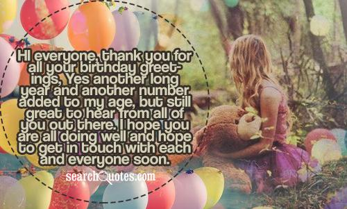 18th birthday thank you greetings quotes quotations sayings 2018 m4hsunfo