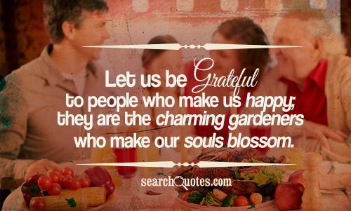 thanksgiving, being grateful Quotes