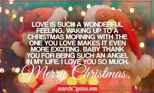 Christmas Love Quotes & Sayings