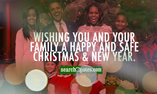 Wishing you and your family a happy and safe Christmas & New Year.