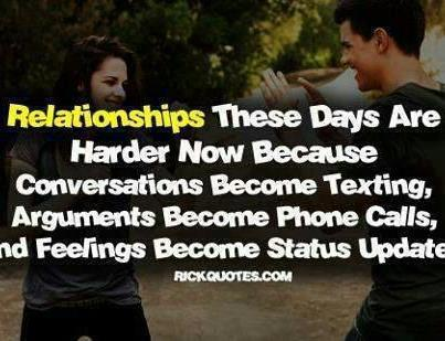 human relationship now a days quotes